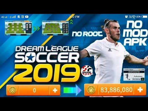 DREAM LEAGUE SOCCER 2019 MOD APK No Root (legendary Players
