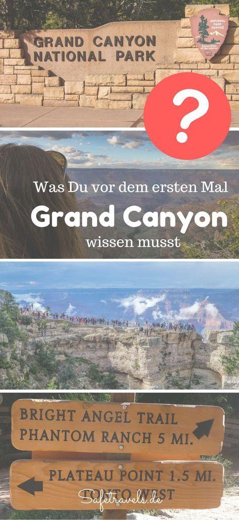 Bright Angel Trail, Mather Point, Phantom Ranch. Wo übernachten und welche Wanderung? Skywalk ja oder nein? Tagesausflug von Las Vegas aus oder Hubschrauberflug?Alles,was Du vor Deinem Besuch am Grand Canyon wissen musst.