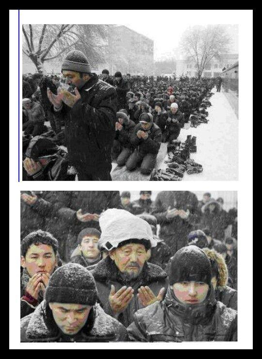 صﻻة الجمعه في كازخستان ......
