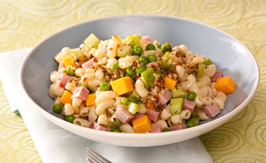 Epicure's Ham and Cheese Pasta Salad