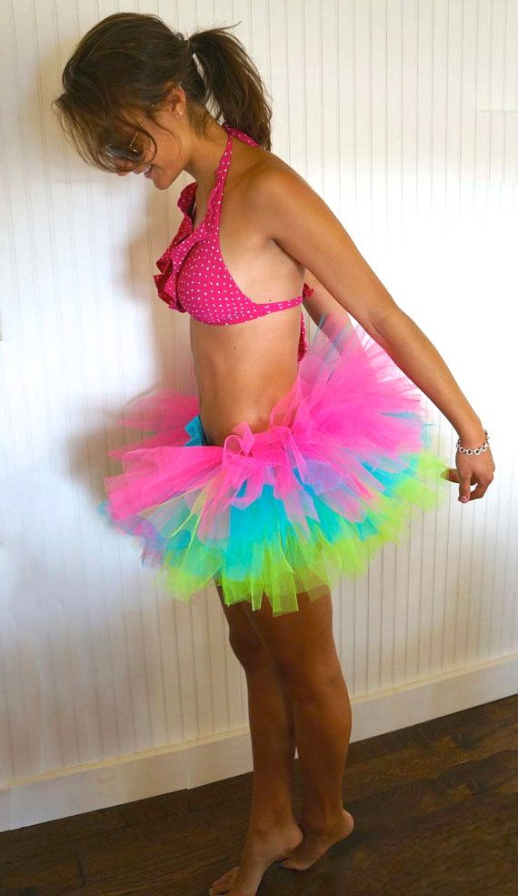 Hey, I found this really awesome Etsy listing at https://www.etsy.com/listing/157987214/neon-reversible-adult-tutu-rave-tutu