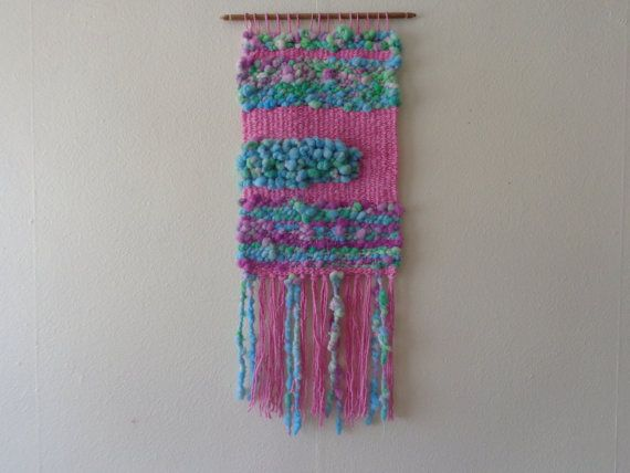 Medusa textured Wall Hanging by CrisalidaTextile on Etsy