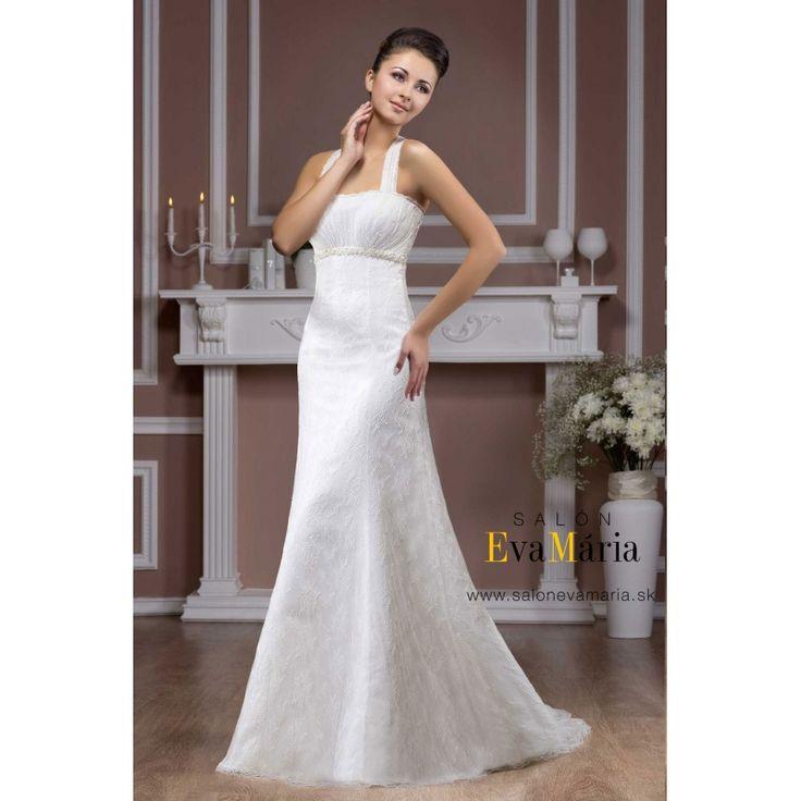 Biele svadobné šaty Rane