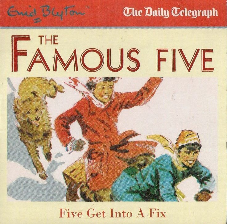 ENID BLYTON  FIVE GET INTO A FIX  PROMO AUDIO BOOK from the DAILY TELEGRAPH  ~~