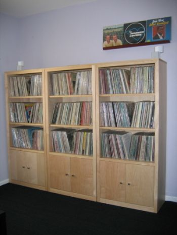 analog apartment a place for people who love records lp storage from room u0026