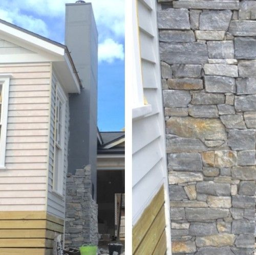 Stone chimney going up on our new build.Friday's Favourites: Gallerie B