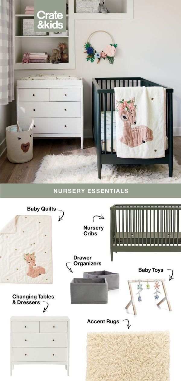 Nursery Essentials | Baby Room Decor, Nursery Essentials, Baby Furniture