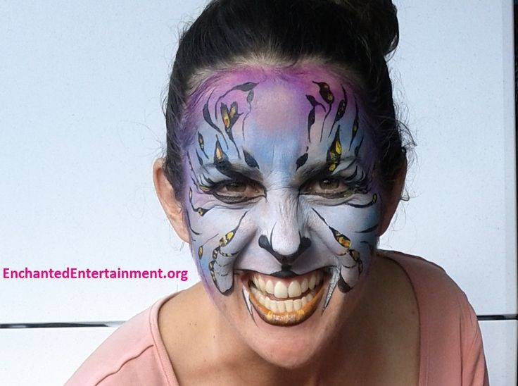 Tiger alert! Face painting by EnchantedEntertainment.org  Character Parties, Face Painting & Entertainment for Children  Northern NSW & Gold Coast, Australia