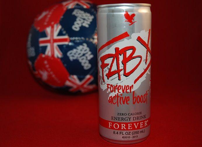 Drink Fab X natural energy drink with aloe vera. Contains no sugar, no carbs and no calories.