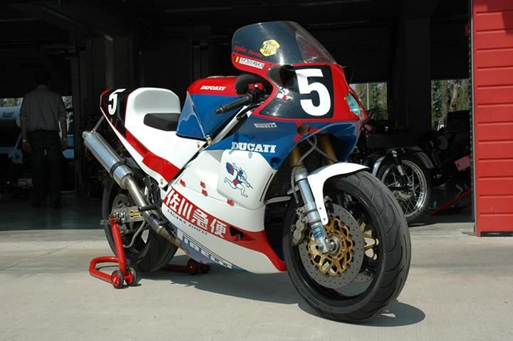 Ducati 851 endurance racer- one of only 4 ever created