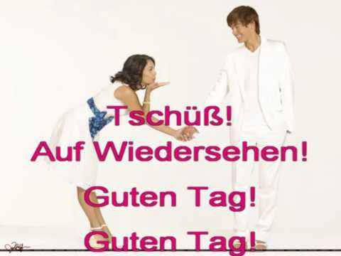 ▶ Guten-Tag-Lied.avi - YouTube  Hello and goodbye