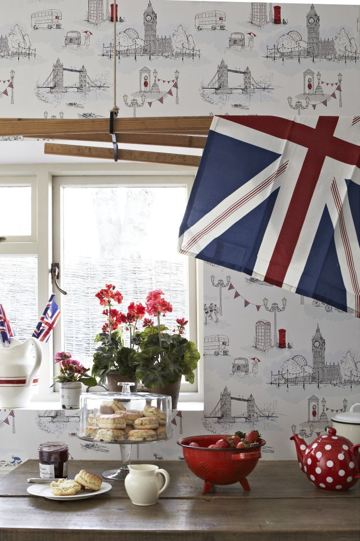 17 best images about kitchen wallpaper ideas on pinterest for Thick kitchen wallpaper