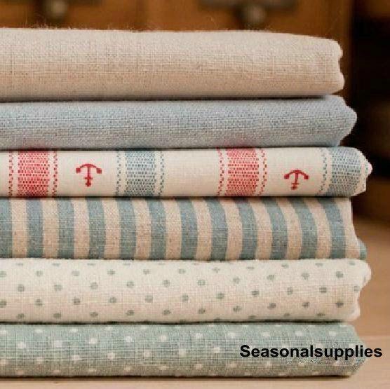 Bundle Fabric Ocean Fabric Bundle Blue Stripe от seasonalsupplies