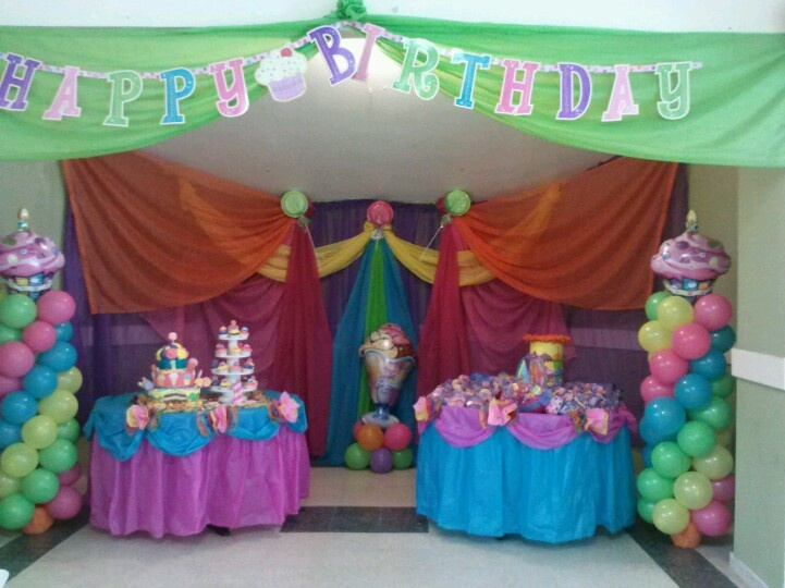 Birthday Decoration Using Photos