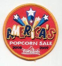 2008-2009 Trails End Popcorn BSA patch (America's Popcorn Sale) Pack of 10