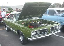 Plymouth Barracuda - Wikipedia, the free encyclopedia
