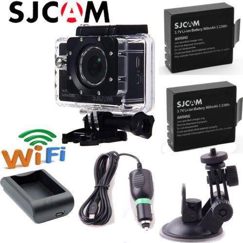 SJCAM SJ5000 WiFi Sports Camera 1080P Waterproof Car DVR DV+free charger/bracket #SJCAM