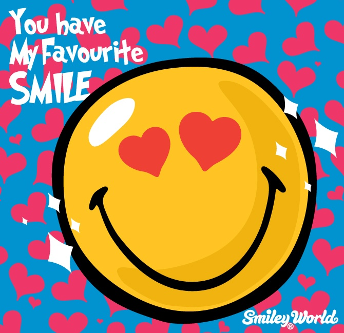 You have my favourite Smile!    FREE SMILEY ICON DOWNLOAD  at www.smiley.com