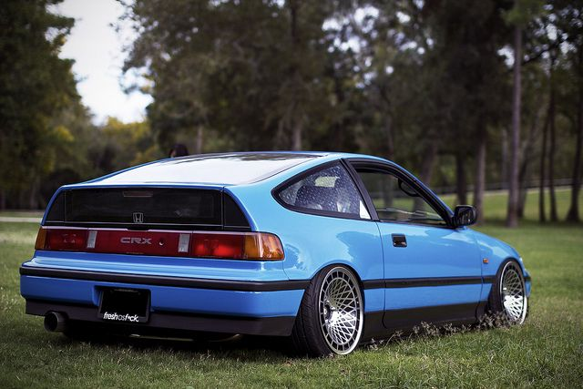 The Honda CRX. From the 'Golden Era' of Honda's.