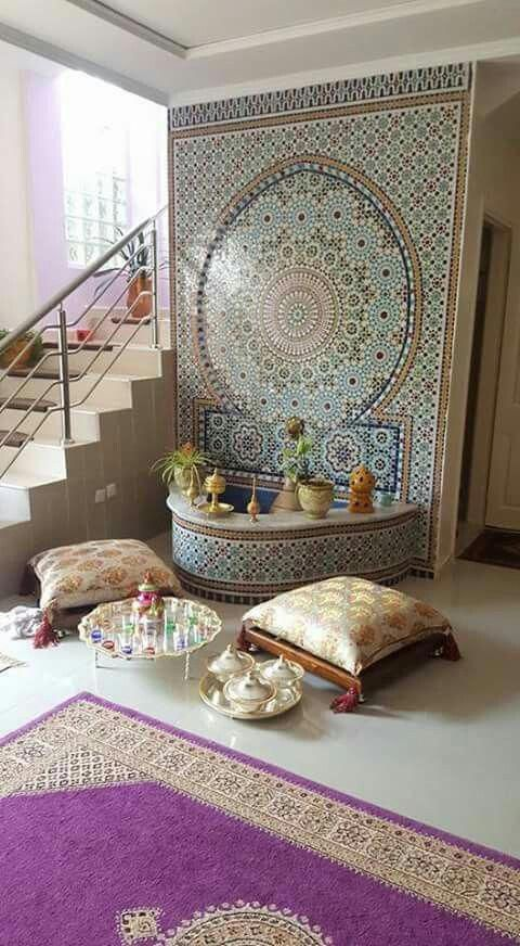 Moroccan Decoration Living Room: Moroccan Living Room Ideas, Tiles, Archways And Doorways