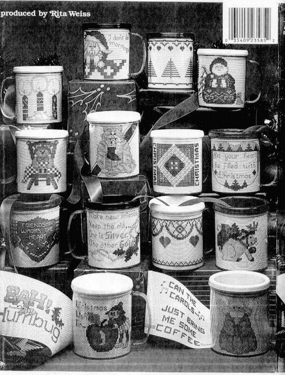 Gallery.ru / Фото #1 - Рождественские миниатюры для вышивки в сувенирные крУжки - rondo32
