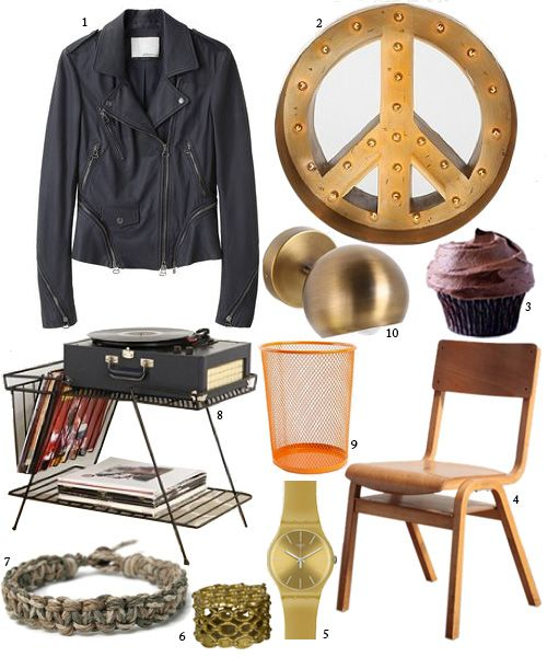 living in: empire records   Design*Sponge   IT'S REX MANNING DAY!