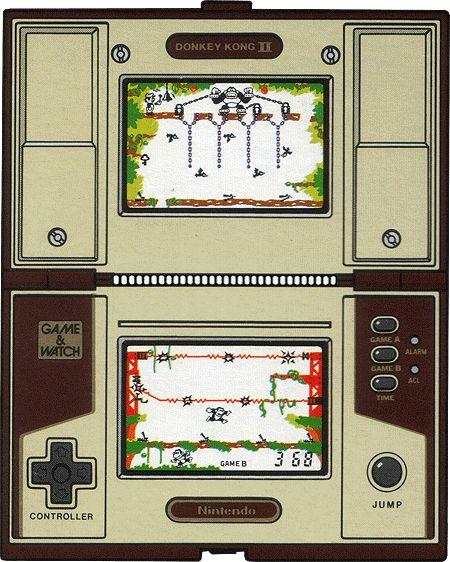 Donkey Kong II (1983) Game & Watch : Multi-screen Series - nintendo