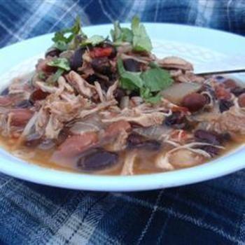 Jerre's Black Bean and Pork Tenderloin Slow Cooker Chili: Crock Pots, Chilis Recipes, Black Beans, Jerre Black, Jerr Black, Slow Cooker Chilis, Crockpot Recipes, Pork Tenderloins, Tenderloins Slow