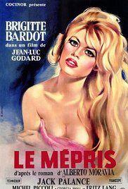 Le Mépris Η περιφρόνηση Poster
