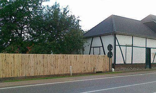 Chestnut recinzioni in legno - recinzione a prova di castagno - pannelli chiusi | Castanea