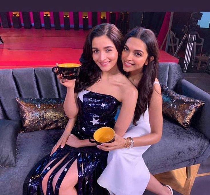 Deepika Padukone and Alia Bhatt shoot for Koffee with ...