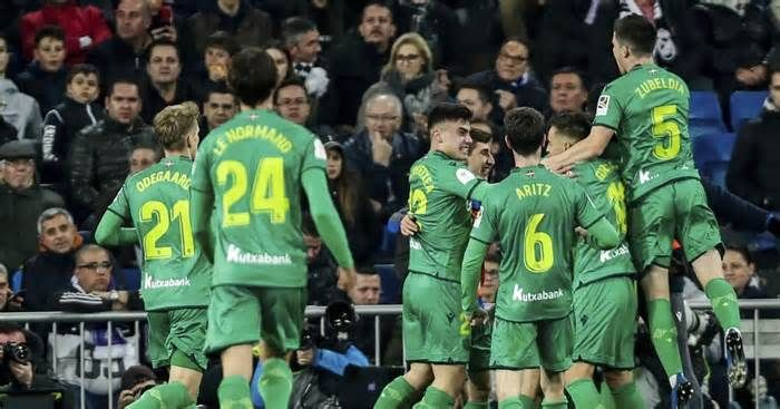 Real Madrid And Barcelona Eliminated In Copa Del Rey Get The Latest News For Realmadrid Inside Pinter In 2020 Real Madrid And Barcelona Real Madrid Goal Real Madrid