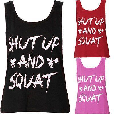 Love them? Women Yoga Fitness Workout Tank Top Only $7.90 https://goo.gl/5hMDrh #yogatop #yogashirt #yogawear #yogaclothes #yogaclothing #yogashirts #yogagear #tanktop #tanktops #tanktopgym #tanktoplife #fitnesswear #fitnesstop #fitnessshirt #fitnessgear #gymshirt #gymwear #gymgear #runningshirt #runningwear #shutupandsquat