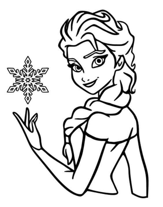 47 best WINTER PRINCESS kids COLORING pages and templates images on ...