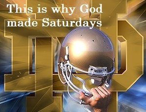 """God bless Notre Dame. Like the Irish? Be sure to check out and """"LIKE"""" my Facebook Page https://www.facebook.com/HereComestheIrish Please be sure to upload and share any personal pictures of your Notre Dame experience with your fellow Irish fans!"""