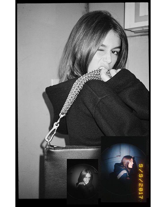 #AlexanderWang - Photographed backstage at the Spring 2018 show by Dexter Navy: #KendallJenner, #AnnaEwers, #BellaHadid, #StellaLucia, #KaiaGerber, #SukiWaterhouse, EZ, #HanneGabyOdiele and #水原希子 #KikoMizuhara.