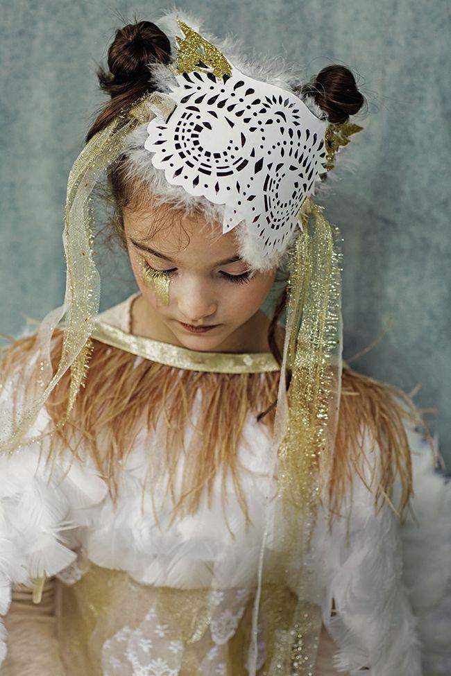 50c0fd062194 deguisement pour enfant en papier - un masque de hibou à imprimer et à  découper - diy enfant - Marie Claire Idées