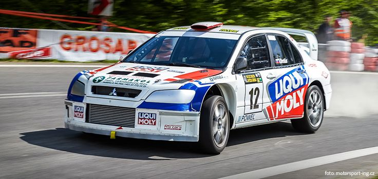 Mitsubishi Lancer WRC - hill climb - 2015 design and wrap for Igor Drotár