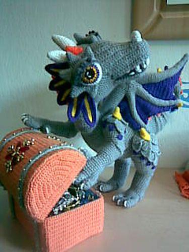 Fierce Little Dragon Amigurumi Pattern : 1000+ images about Dino dragon on Pinterest