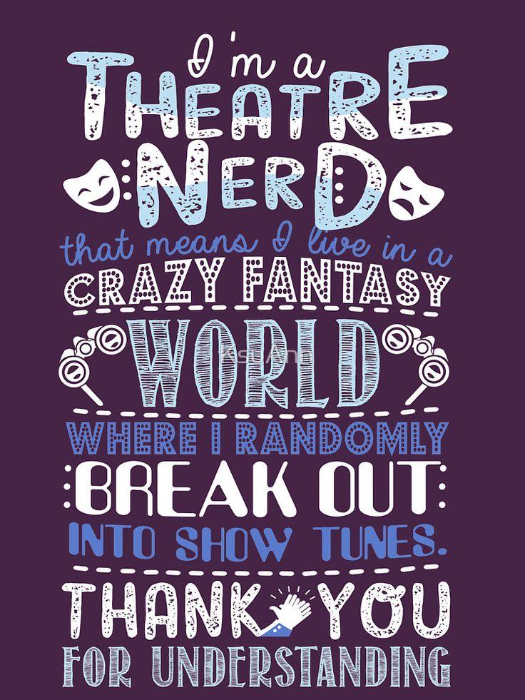 Theatre Nerd by KsuAnn