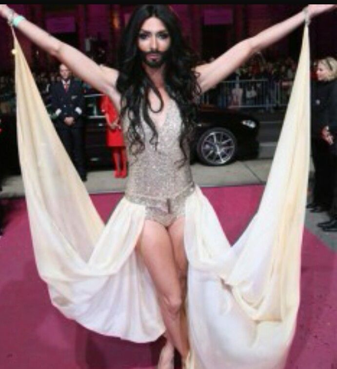 conchita wurst en eurovision 2014