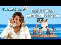 Quattro pirati nel mar dei Sargassi - Balliamo con Greta - Canzoni per b...