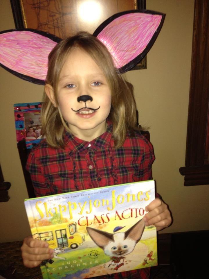 quick skippy john jones costume for the book fair - Judy Moody Halloween Costume
