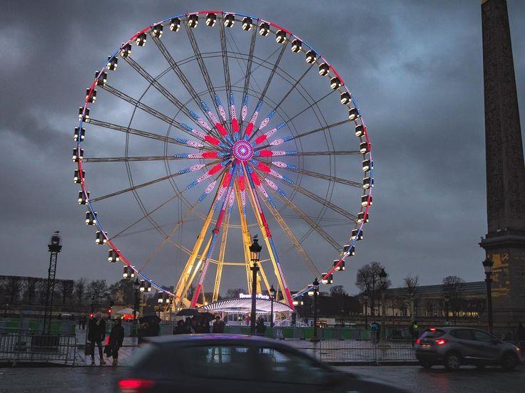 Looks like Ferris wheels getting more and more popular everywhere  #topeuropephoto #topparisphoto #topfrancephoto #gf_france #pariscartepostale #IgersParis #francevacations #parisjetaime #parismaville #igersfrance #ig_paris #pariscityvision #sky #super_france #visitlafrance #LOVES_FRANCE_ #paris #Geo_plc #paris #hello_france #france4dreams #pariscartepostale #hello_worldpics #architecture #winter #MonHiveràParisRegion #ferriswheel #darksky #parisstyle #christmasdecor