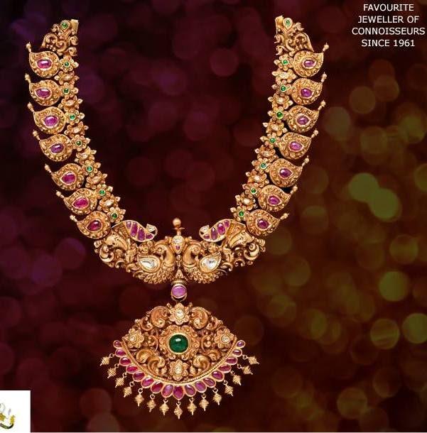 Jewellery Designs: beautiful Manga Malai by Karni Jewellers - 250gm, 10L