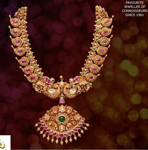 Jewellery Designs: beautiful Manga Malai by Karni Jewellers - 250gm, 10L