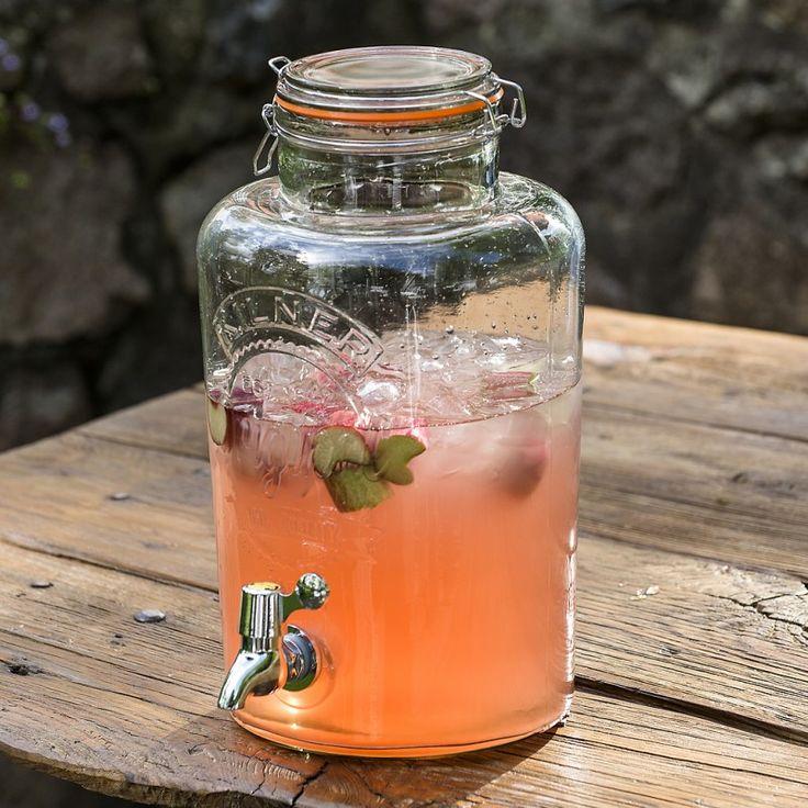 8l Kilner drinks dispenser - £10 hire price