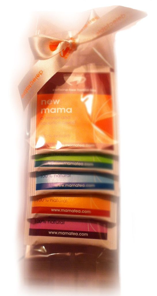 Mama Tea Taster Gift Pack for new mamas-to-be!