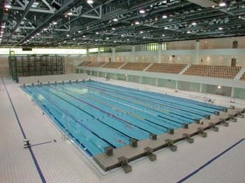 1) I miss swim workouts in a pool like this  2) I can't wait for summer olympics!