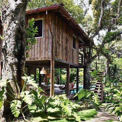 #AndersonCooper has a #treehouse in the Brazilian rainforest. See it via the link in our bio! 📷 @archdigest